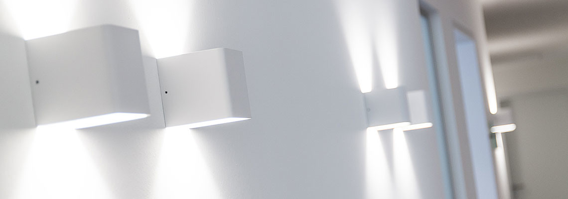 Innenansicht Praxislampen
